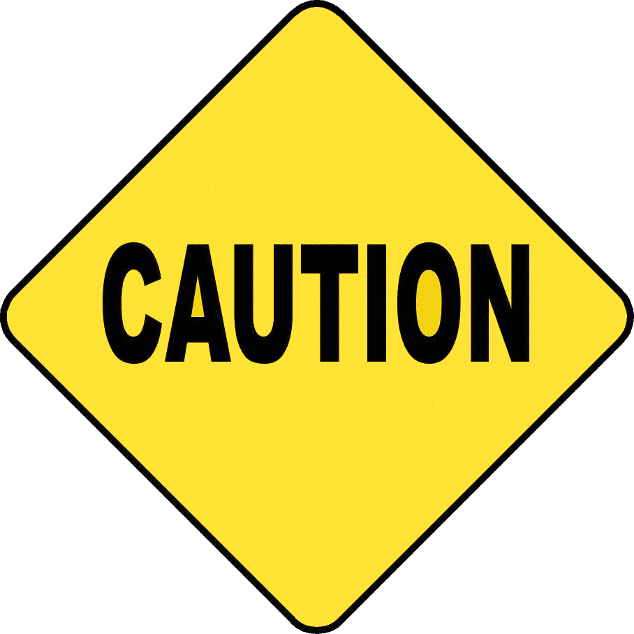 Caution Sign Icon
